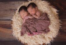 Łóżeczko dla bliźniaków