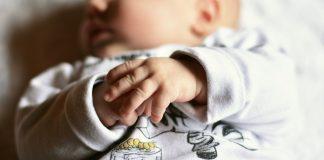 Leżaczek bujaczek dla niemowlaka